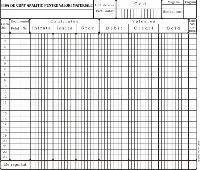 Fisa cont analitic pentru valori materiale, A4, tipar fata/verso, 200 g/mp