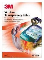 Film pt. retroproiector, A4, scriere directa, 100 buc/top, 3M AF4300
