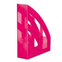 Suport pt. cataloage, roz semitransparent, HERLITZ