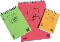 Bloc notes cu spira, A7, 50 file, velin, PIGNA Basic