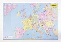 Mapa de birou, 60 x 40cm, harta Europei, KARTON P+P