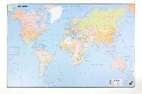 Mapa de birou, 60 x 40cm, harta Lumii, KARTON P+P