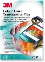 Film pt. retroproiector, A4, imprimare laser color, 50 buc/top, 3M CG3710